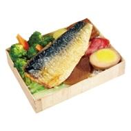 薄鹽鯖魚飯包