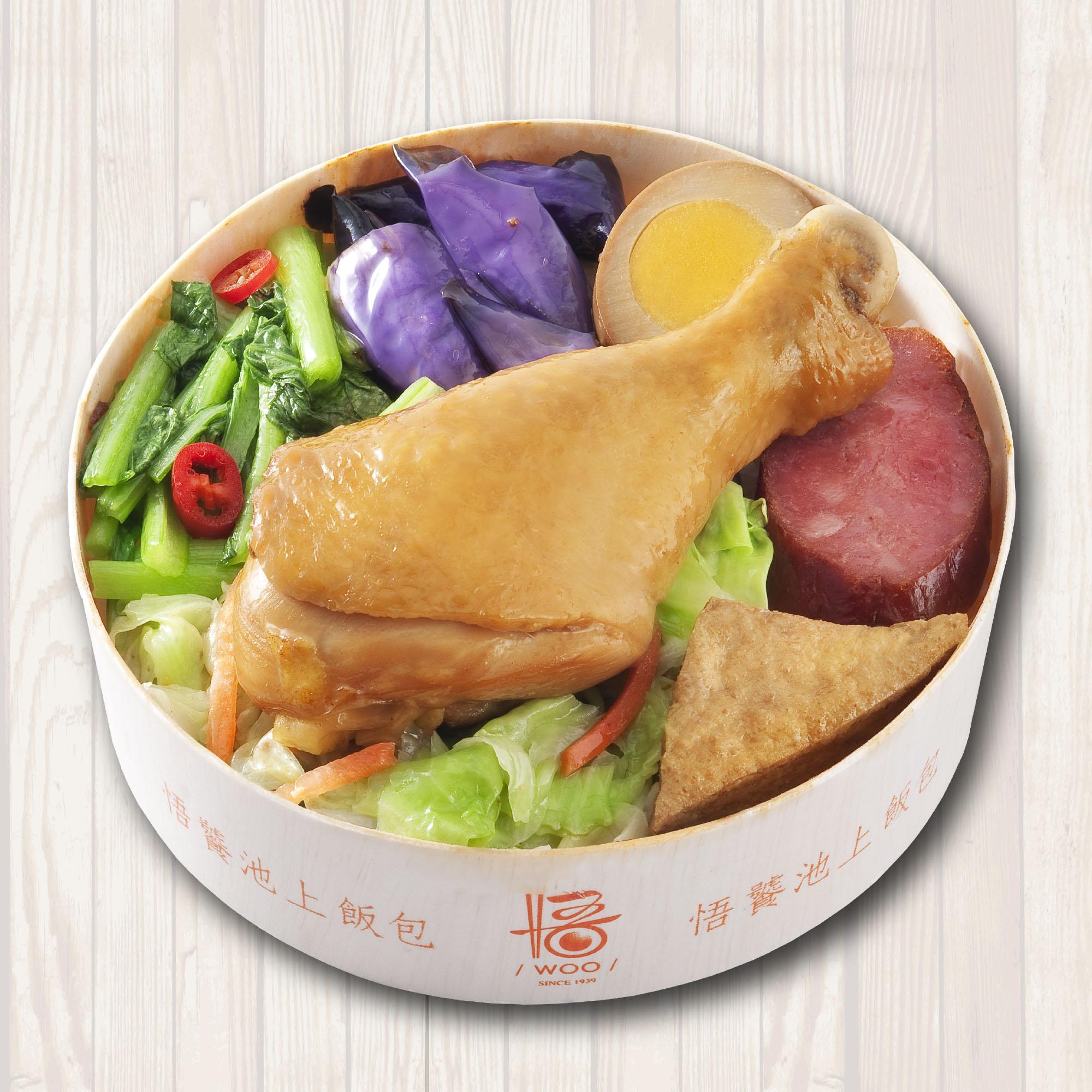 飄香滷雞腿飯包